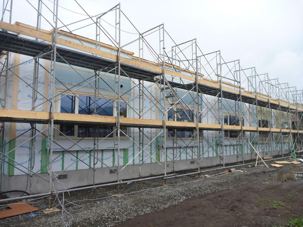 日高地区生活支援ハウス「仮称日高荘」新築建築主体工事