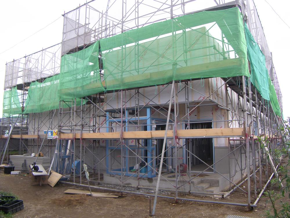 富川小学校給食関連新築建築主体工事