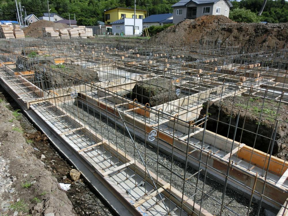 公営住宅新築建築主体工事(宮下団地)