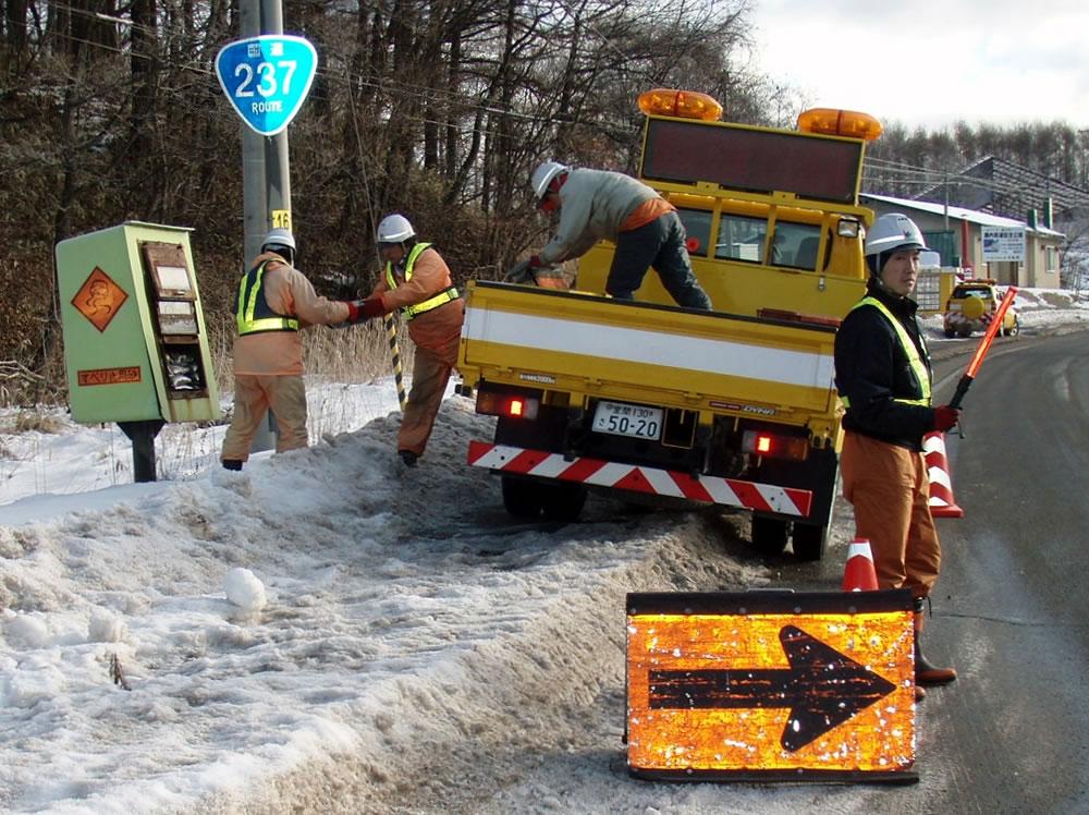 一般国道237号平取町振内道路維持除雪外一連工事