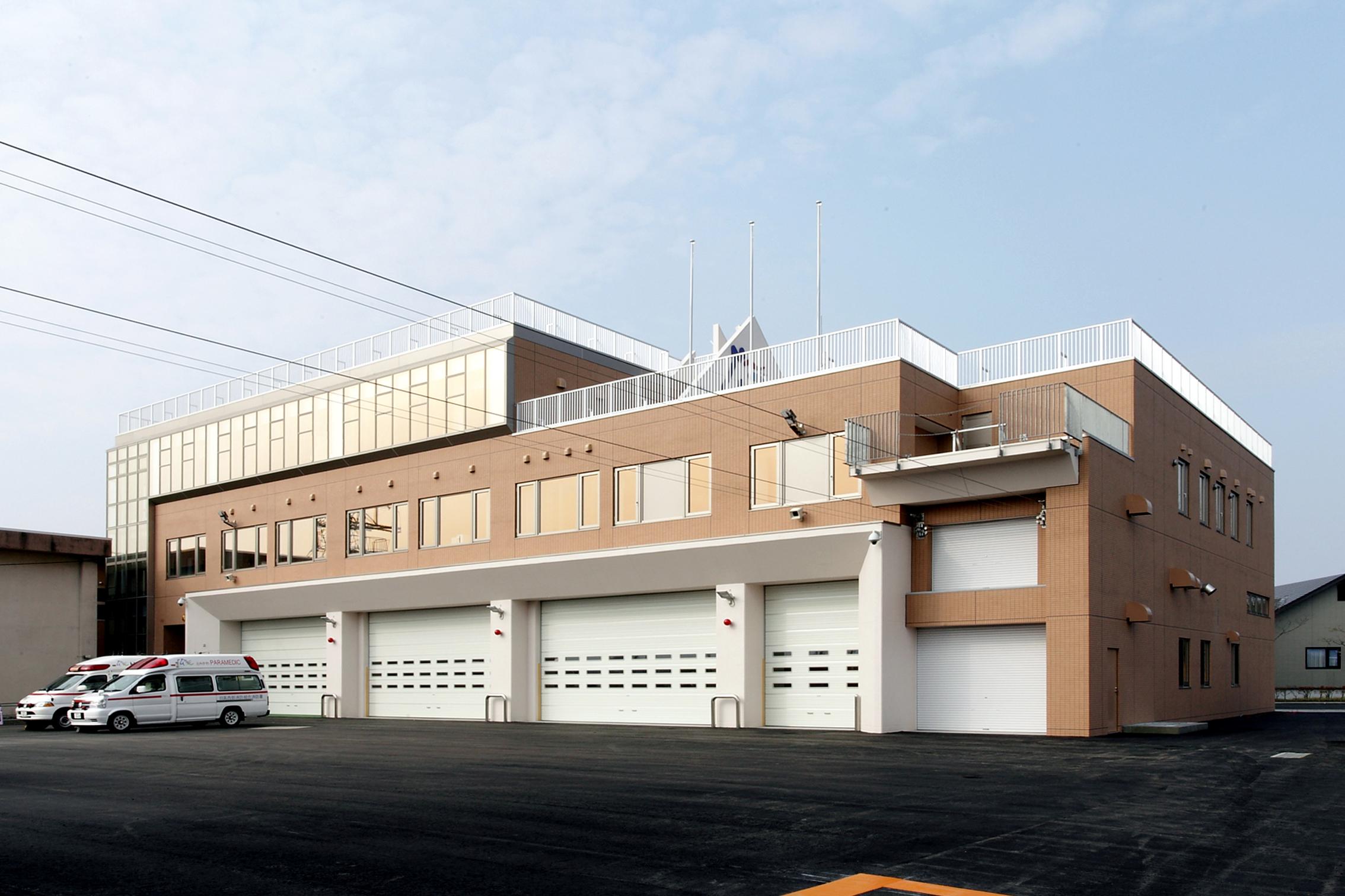 消防署消防庁舎改築事業建築主体工事