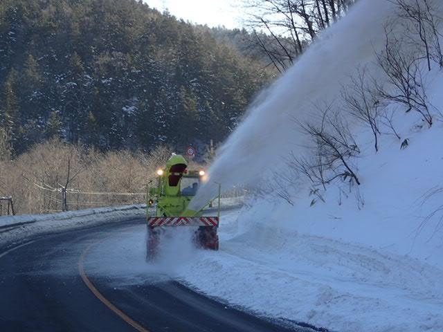 一般国道237号日高町日高道路維持除雪一連工事