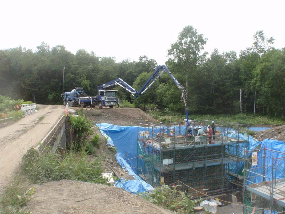 森林管理道岩内線第2工区開設工事