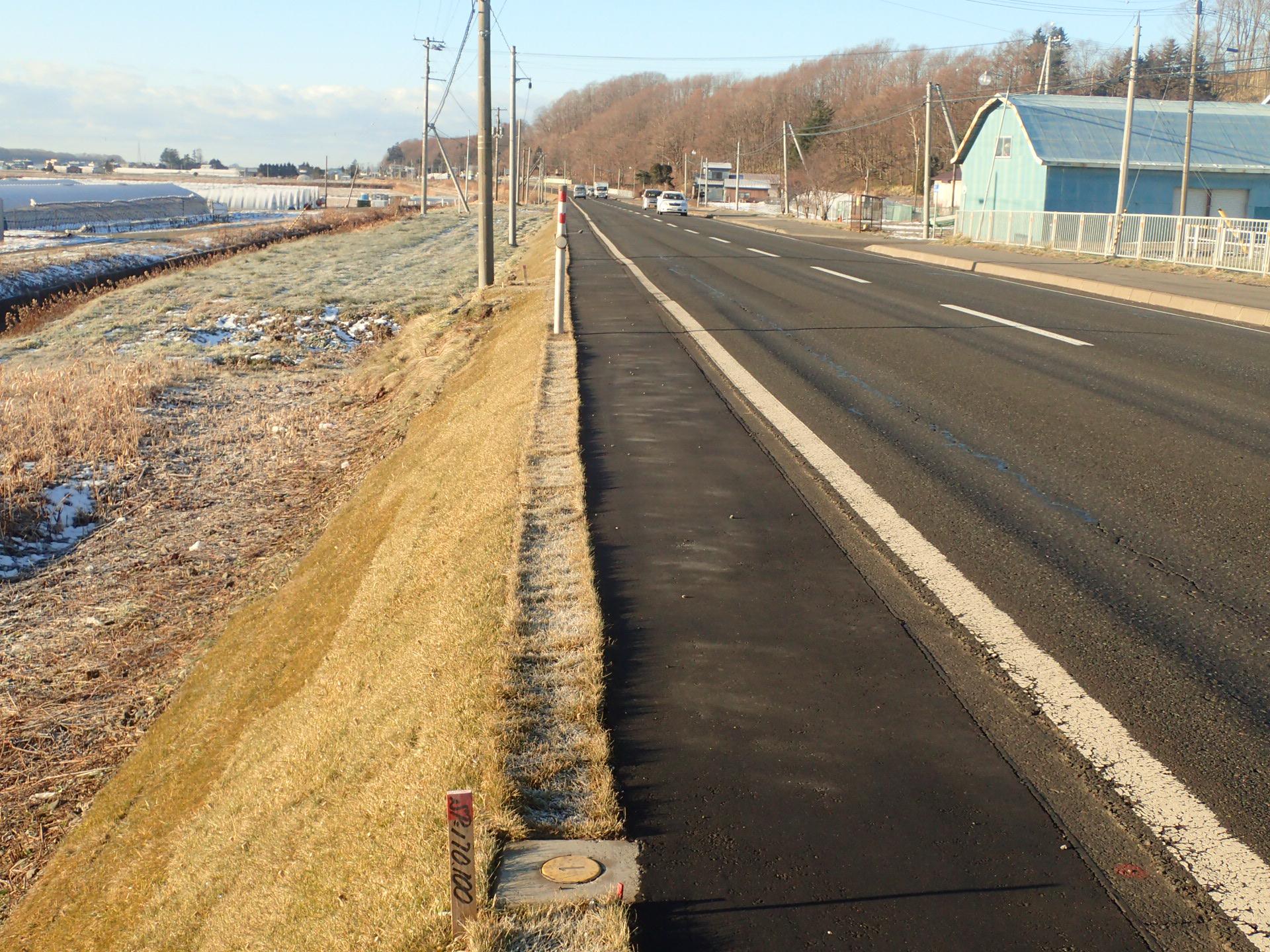 一般国道237号平取町池売改良外一連工事