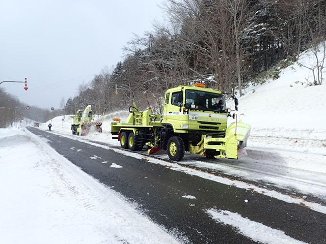一般国道237号日高町日高道路維持除雪外一連工事