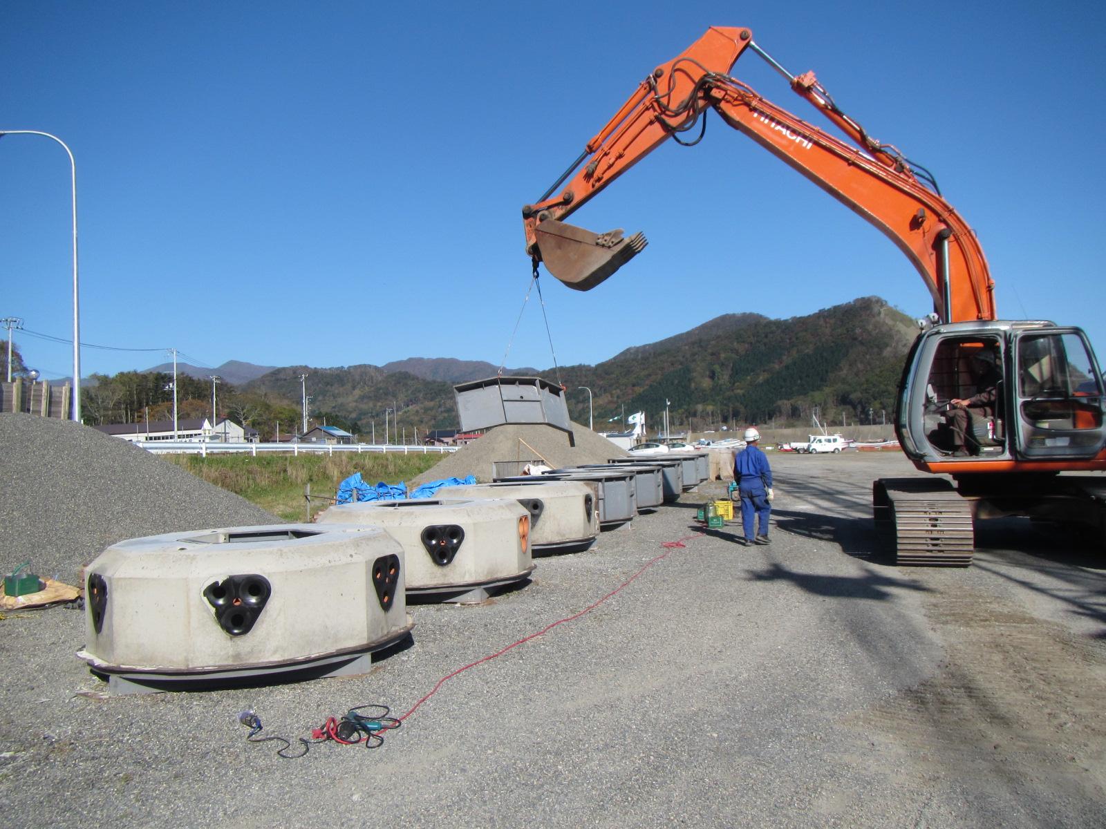北海道太平洋西部地区庶野増殖場造成工事