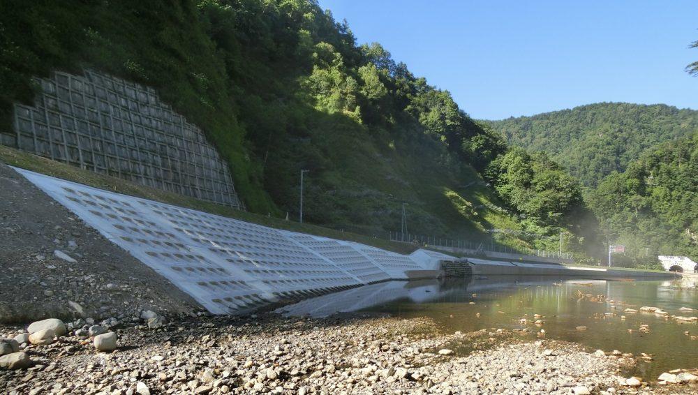 一般国道274号日高町ニセクシュマナイ改良工事