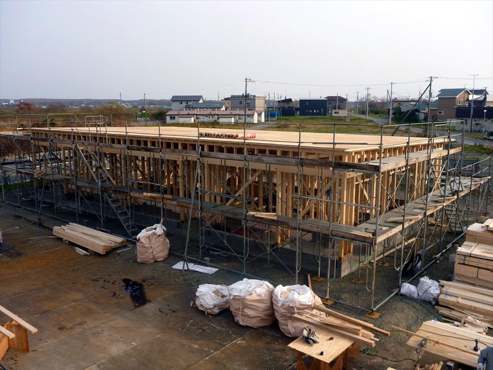 平成30年度公営住宅新築建築主体工事