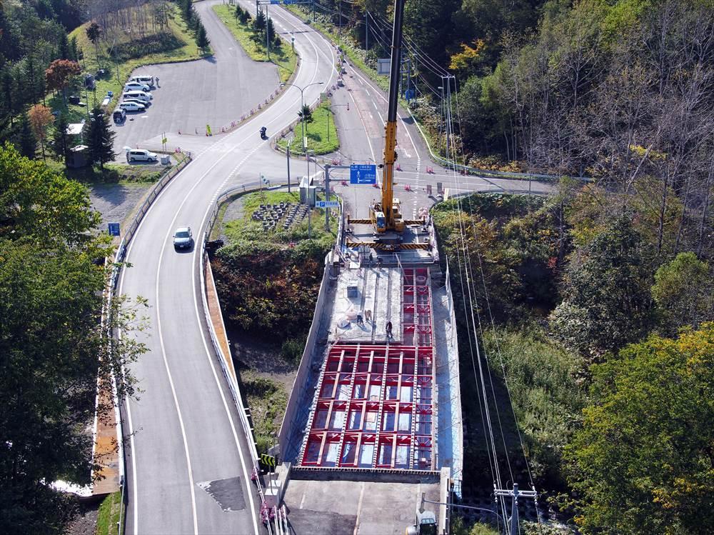一般国道274号 占冠村 名石橋補修工事
