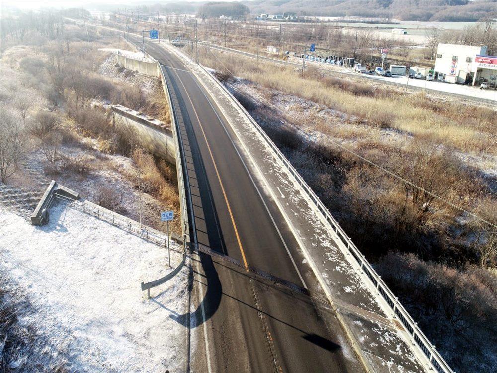 一般国道235号 むかわ町 鵡川大橋耐震補強外一連工事