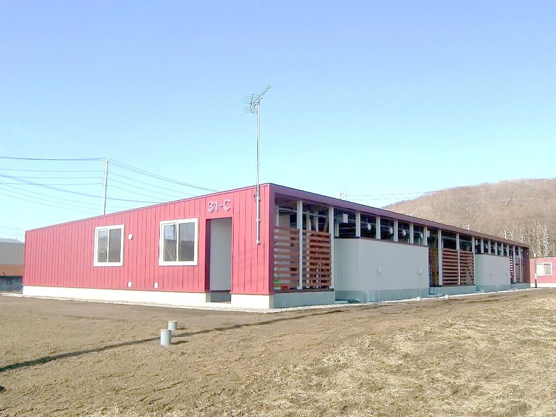 平成31年度公営住宅新築建築主体工事