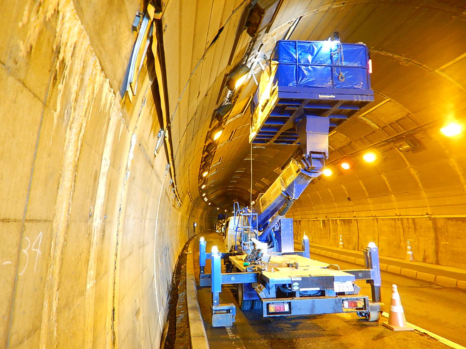 一般国道274号むかわ町長和トンネル補修外一連工事