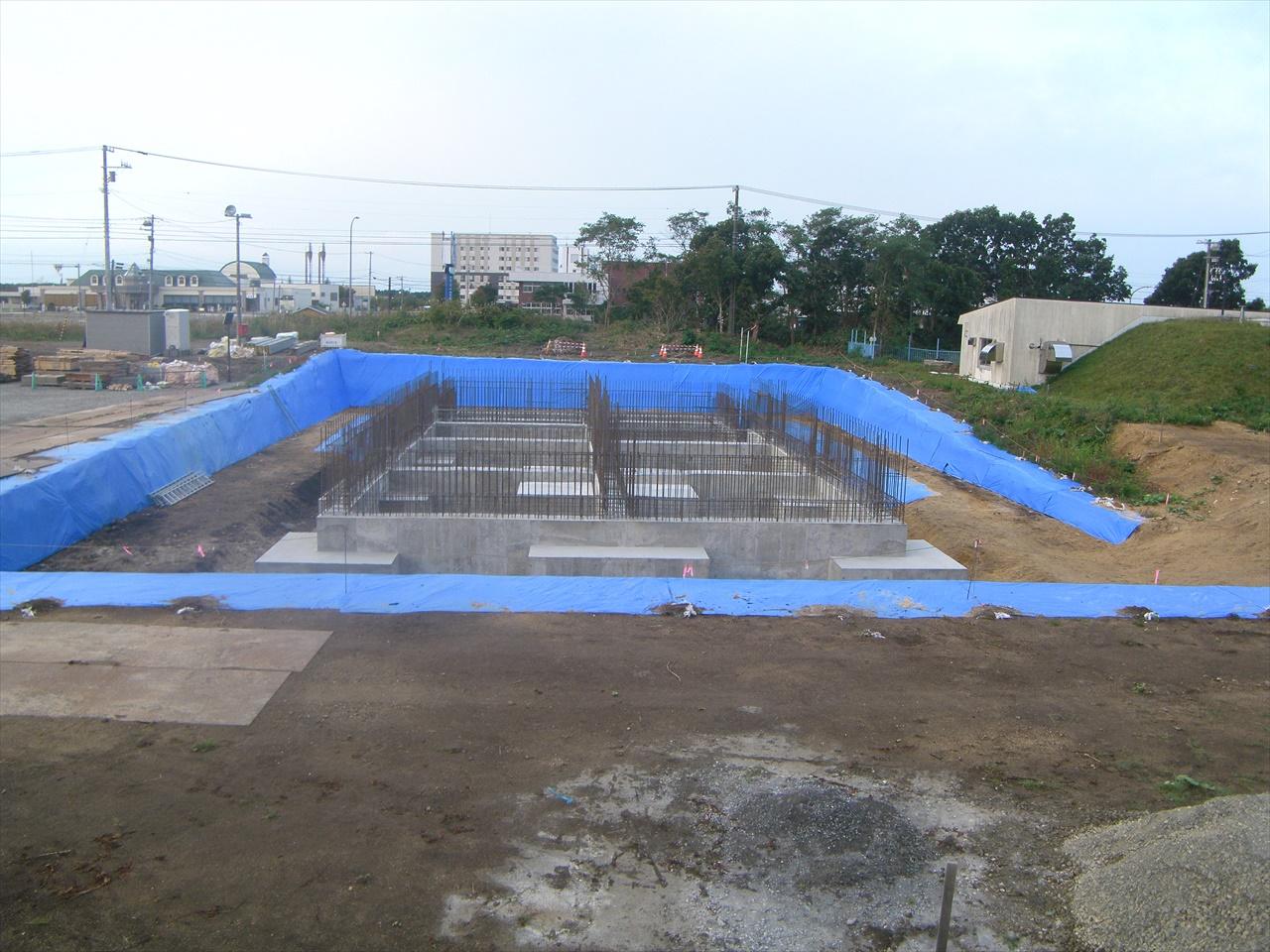 富川配水池改築工事(建築・水道)