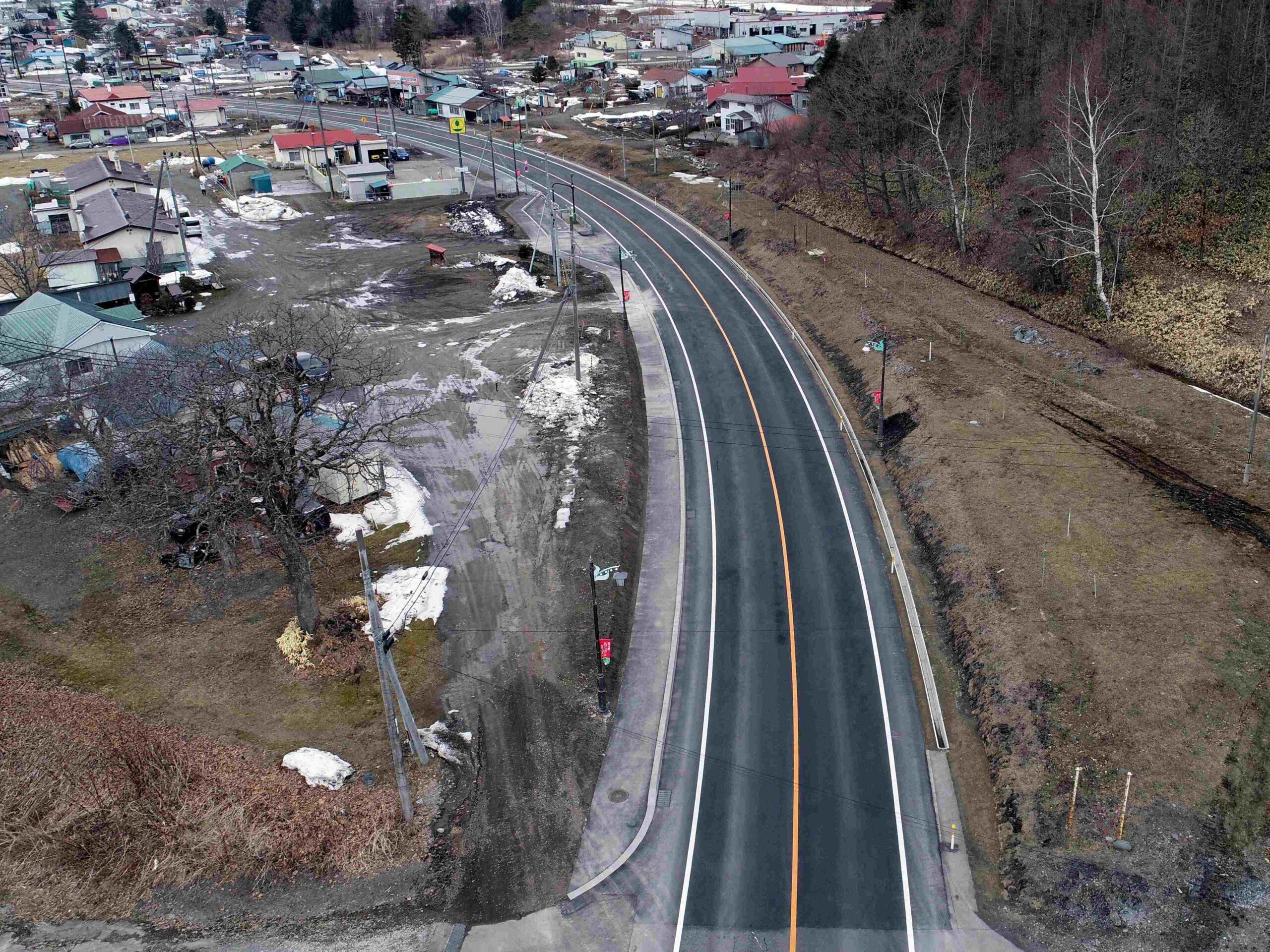 一般国道237号 平取町 振内改良外一連工事
