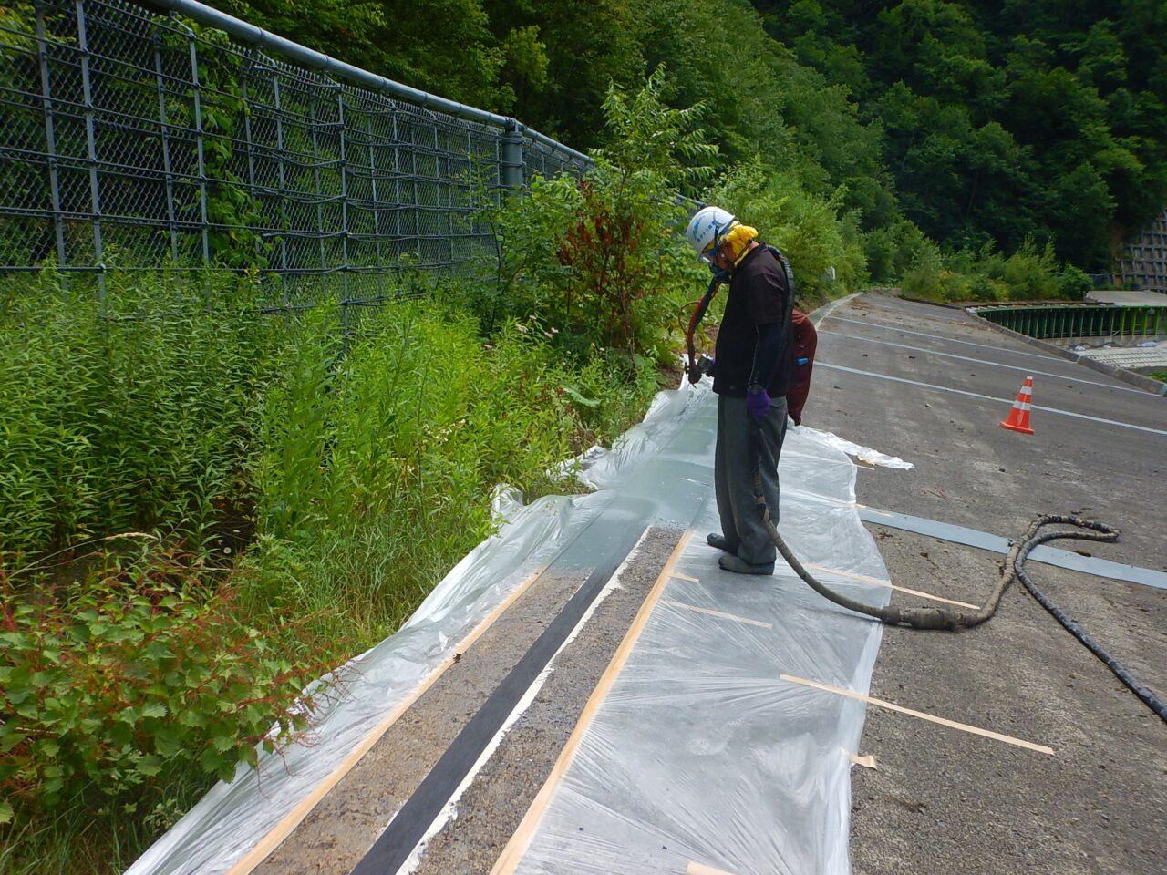 一般国道274号 日高町 清瀬覆道補修外一連工事